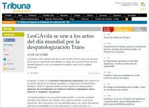 Enlace a La Tribuna de Ávila