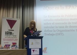 Acceso a la ponencia de Amanda Azañón Teruel, Presidenta de LesGÁvila, Ingeniera de redes en Telefónica I+D, Secretaria general de la sección sindical de UGT en Telefónica I+D