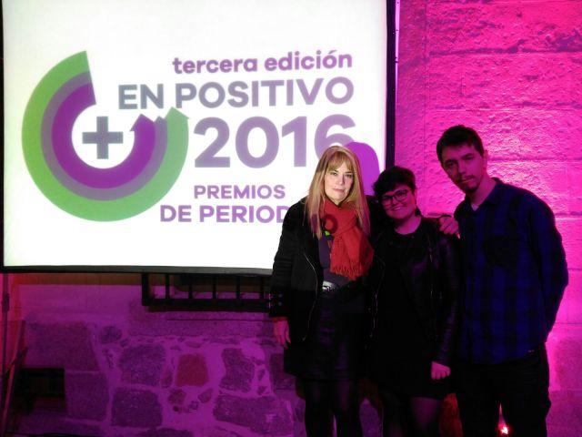 Premio Periodismo en Positivo