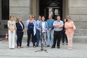Lectura Manifiesto LGTB+ Ayuntamiento de Ávila. Orgullo 2017